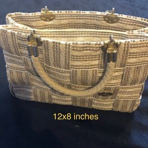 Fiona Belt Weaving purse vintage Made in Italy